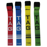 VALUE TAG RUGBY BELT YELLOW PK10