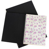 A4 ECO BLACK COVER WHITE PAPER X5