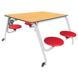 OUTDOOR/DINING TABLE RED 685 H