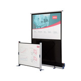 NOBO 1620X1200 FLOOR STANDING SCREEN
