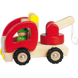 SET 6 WOODEN VEHICLES