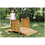 LIVING CLASSROOM WOODEN BRIDGE