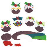 Christmas Pudding Card Pack