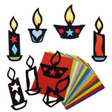 STAINED GLASS FESTIVAL LIGHTS PK30