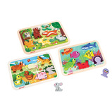 Chunky Puzzles Set