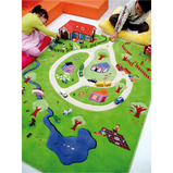 Activity Play Farm Rug