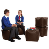 Faux Leather Classroom Cubes