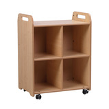 PLAYSCAPES 2 COLUMN SHELF UNIT