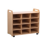 PLAYSCAPES 3 COLUMN SHELF UNIT
