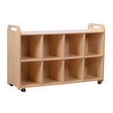 PLAYSCAPES 4 COLUMN SHELF UNIT
