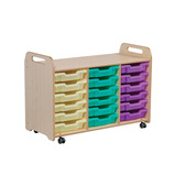 PLAYSCAPES TRAY 3 CLMN 6 6 BLUE