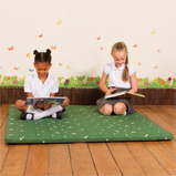 Daisy Grass Indoor/Outdoor Mat