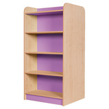 Library Double Bookcase H1500mm