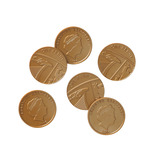 PLASTIC COIN PACK OF 50 TWO POUND