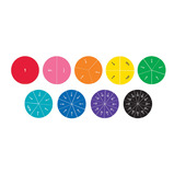 Giant Double-Sided Magnetic Rainbow Fraction® Circles