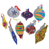 BAUBLE DECORATIONS PK32