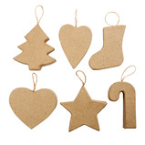 CHRISTMAS ORNAMENTS PK6