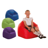 PRIMARY BEANBAG CHAIR RED
