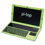 PI-TOP DIY LAPTOP, GREEN, NO PI