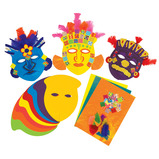 Make a Mayan Mask Set