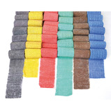 COLOURED MODROCK PK48ROLLS ASST.