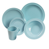 Melamine Blue Mugs
