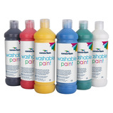 WASHABLE PAINT AST 600ML PK6 PK A