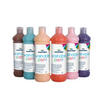 WASHABLE PAINT AST 600ML PK6 PK B