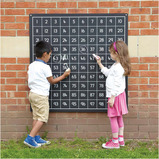 OUTDOOR HUNDRED SQUARE CHALKBOARD 1-100