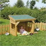 OUTDOOR WOODEN TODDLER DEN