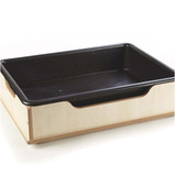 Toddler Wooden Sand and Water Tub