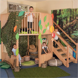 Indoor Two Floor Play Loft
