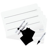 Value Superlight Mini Whiteboard Landscape Lined Kit