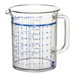 Hard Plastic Measuring Jug
