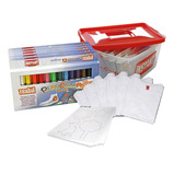 Playcolor Textil Paint Stick & T-Shirt Classpack