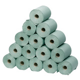 PAPER TOWEL ROLL GREEN 200MM WIDE 16