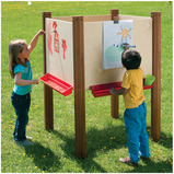 FOUR SIDED OUTDOOR EASEL