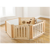 Toddler enclosure play panel 6 panel set