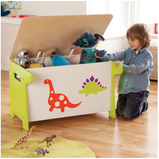 DINOSAUR TOY BOX DESK