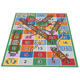 SNAKES AND LADDERS RUG
