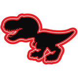 Dinosaour Outdoor Chalkboards Set