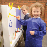 Double Economical Fence Easel