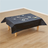 CHALKBOARD TABLE COVERS 1 X 1.2M 2PK