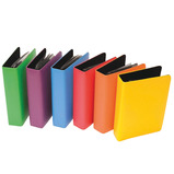A5 RAINBOW TALKING PHOTO ALBUMS 6PK