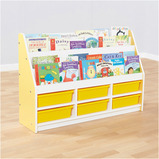 Valencia Tiered Book Storage Units Yellow