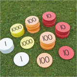 PLACE VALUE FOAM COUNTERS 80PCS