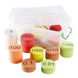 PLACE VALUE COUNTERS TEACHER 120PCS