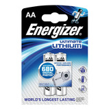 ENERGIZER LITHIUM AA BATTERY PK 2