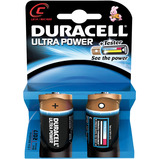 DURACELL BATTERY M3 C CELL PK 2