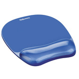 FELLOWES BLACK GEL MOUSE MAT